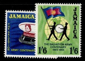 JAMAICA QEII SG242-243, complete set, NH MINT.
