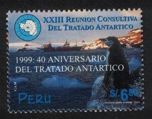 Peru Penguins Birds 40th Anniversary of Antarctic Treaty SG#2006