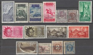 COLLECTION LOT # 3826 SPANISH COLONIES 15 STAMPS 1900+ CV+$22