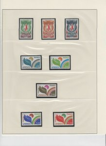EUROPA 5 PAGES SOUND VF COLLECTION LOT OG NH U/M #2 MINT NEVER HINGED $$$$$$$