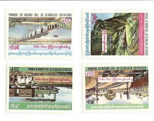 Burma 262-265 MNH (short)