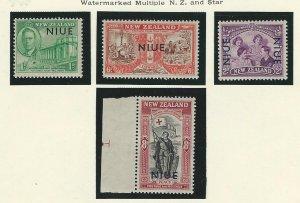 Niue   mnh sc  90-93