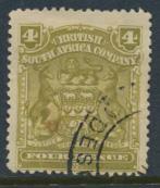 Rhodesia BSAC SG 82 Used see details