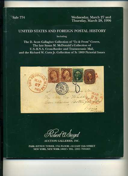 Siegel Sale on US & Foreign Postal History