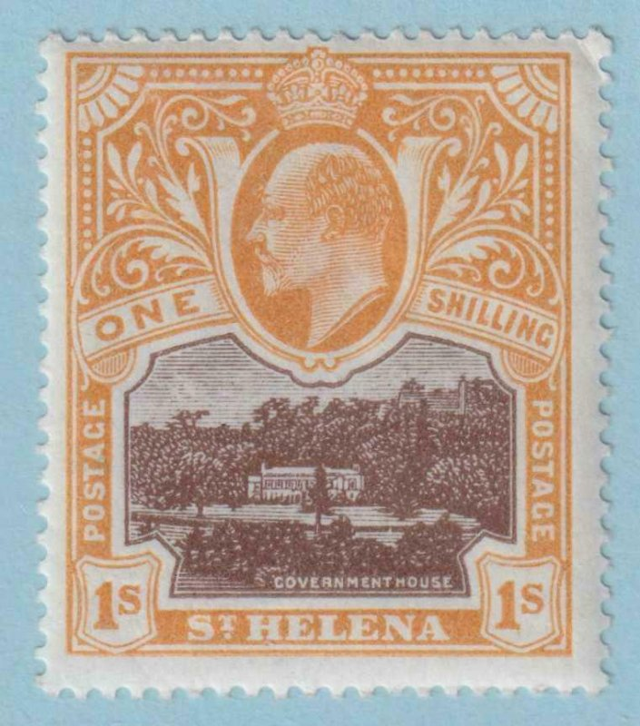 ST HELENA 54  MINT HINGED OG * NO FAULTS EXTRA FINE !