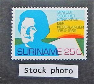 Surinam 368. 1969 Charter of the Kingdom, NH