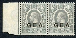 Tanganyika SG63 12c Slate-grey  wmk Mult Script U/M
