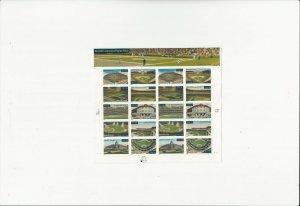 US Stamps/Postage/Sheets Sc #3519a Legendary Playing Fields MNH F-VF OG FV 6.80