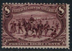 U.S. #289*  CV $150.00