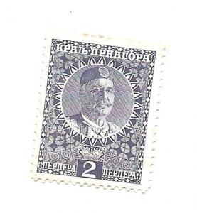 Montenegro 1913 - Scott #109