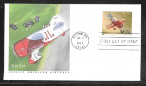 Just Fun Cover #3142F FDC Fleetwood Cachet (my2562)