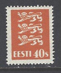 Estonia Sc # 102 mint hinged (DT)