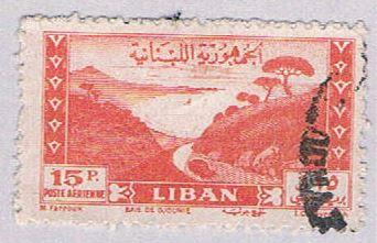 Lebanon C121 Used Bay of Jounie 1947 (BP3447)