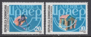 Dominican Republic 1406-1407 MNH VF