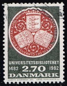 Denmark #731 University Library; Used (0.50)