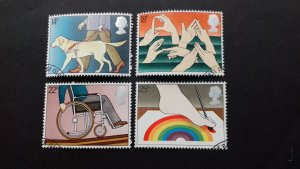Great Britain 1981 International Year of the Disabled Used