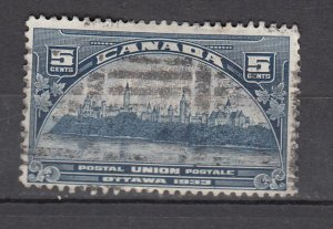 J26209 jlstamps 1933 canada used #202 gov,t buildings