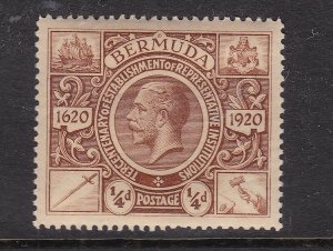 BERMUDA ^^^^^1921  sc# 71    better    MNH     $$@ ta853ber
