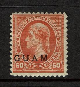Guam SC# 11, Mint Hinged - S1108