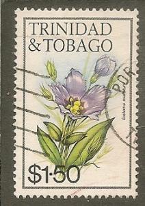 Trinidan & Tobago   Scott 418   Flower     Used