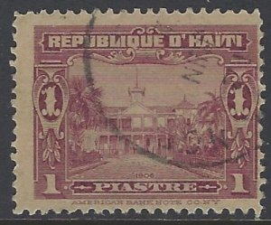 Haiti, Scott #143; 1p Presidential Palace, Used