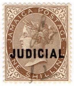 (I.B) Jamaica Revenue : Judicial 1/- (1898)
