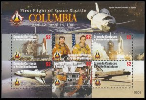 2006 Grenada - Grenadines 4270-75KL Space Shuttle Columbia 10,00 €