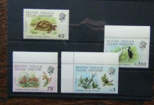 British Indian Ocean Territory 1971 Aldabra Nature Reserve set MNH