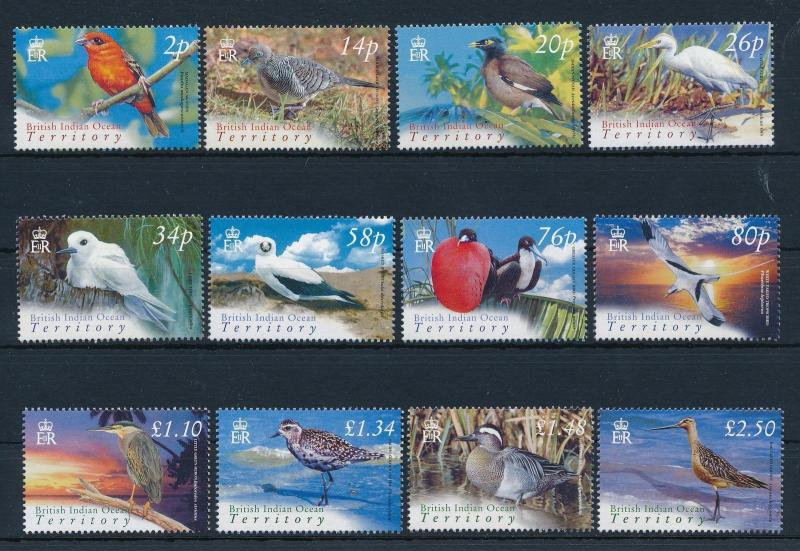 [30041] British Indian Ocean Territory 2004 Birds Vögel Oiseaux Ucelli  MNH