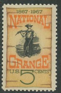 STAMP STATION PERTH USA #1323  MLH OG 1967  CV$0.25.