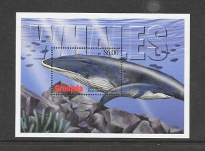 WHALES - GRENADA #3302  BLUE WHALE  MNH