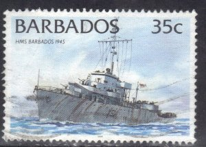 BARBADOS SC# 876 USED  35c 1994  SEE SCAN