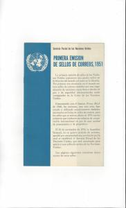 United Nations 1951 Publicity Folder