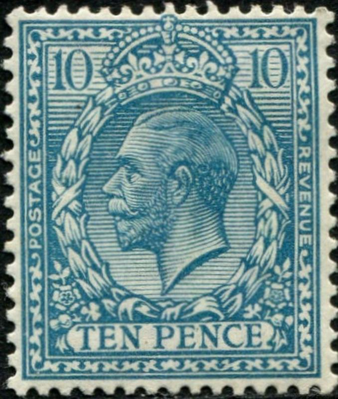 Sg394 SPEC N31(2), 10d turquoise-blue, M MINT. Cat £22.