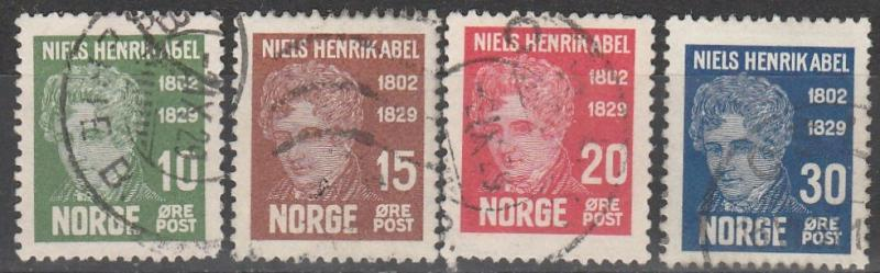 Norway #145-8 F-VF Used CV $7.00 (A17069)