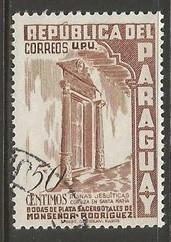 PARAGUAY 493 VFU O556-4
