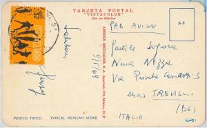 54443 - MEXICO - POSTAL HISTORY: SPORTS stamp POSTCARD: Olympics BASKETBALL 1968