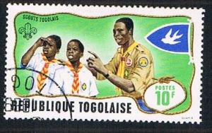 Togo 657 Used Boy Scouts (BP11719)