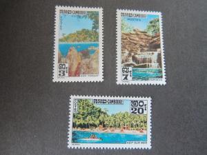 Cambodia 1963 Sc 123-5 set MNH