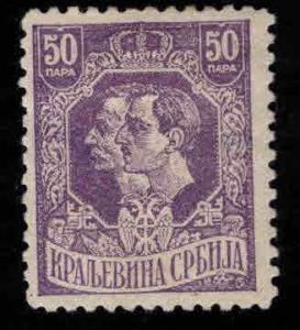 Serbia  Scott 164 MH* thinned stamp