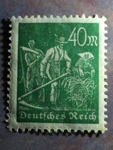 40 Mk. Greenish olive, in perfect condition mint never hinged. Rare