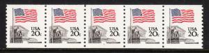 USA — SCOTT 1895a — FLAG OVER SUPREME COURT — PNC PS5 #4