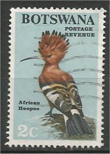 BOTSWANA, 1967, used 2c, Birds Scott 20