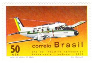 Brazil #1143 MNH airplane