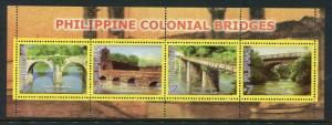 Philippines 3090, MNH, 2007,Featuring Bridges