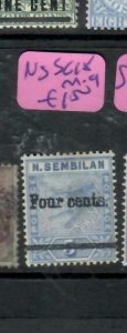 MALAYA  NEGRI SEMBILAN (PP2706B)  TIGER  4C/5C  SG 18   MOG