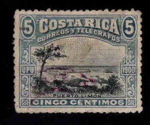 Costa Rica Scott 47 Used  stamp