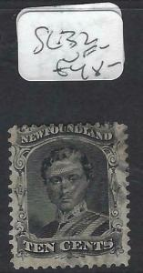 NEWFOUNDLAND (P0403B)  PRINCE  10C  SG  32   VFU