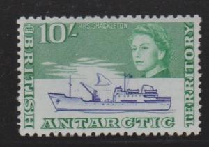 British Antarctic Territory 10/- Hi Value Sc#14 MVLH