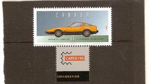 CANADA HISTORIC LAND VEHICULES MNH STAMPS  LOT#548